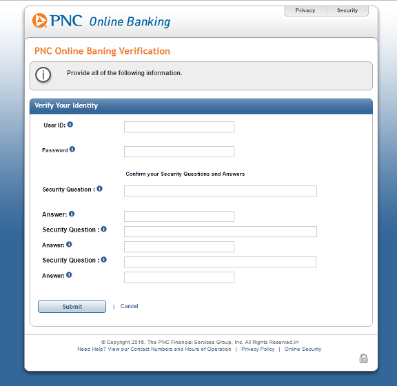 Phishing Alert: Message from PNC Bank Scam | Information