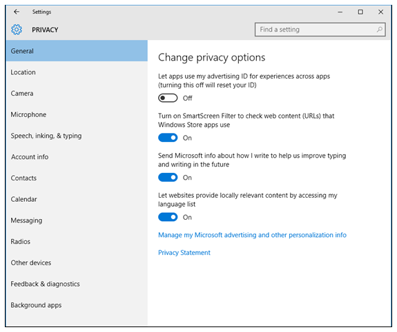 how to allow skype to use microphone windows 10