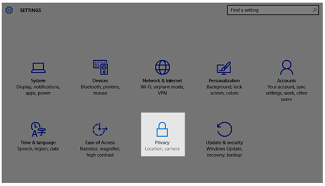 Customizing Windows 10 Privacy Settings | Information