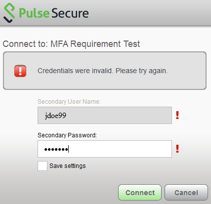 pulse secure no internet access windows 10
