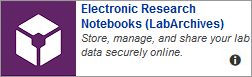 Electronic Research Notebooks Task