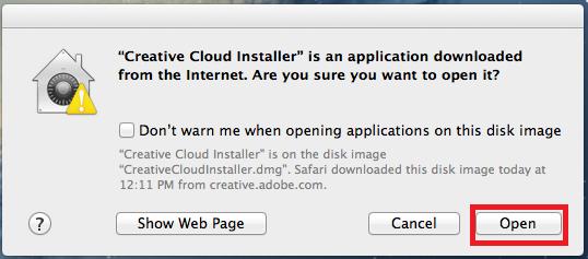 Install Adobe Creative Cloud on Windows or Mac   Information