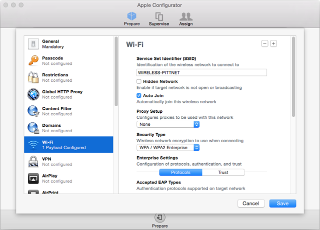 how to connect apple tv to university wifi