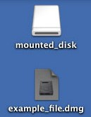 Mounted Disk Icon