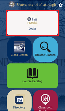 Pitt Peoplesoft Mobile app