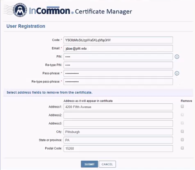Register Your Digital Certificates