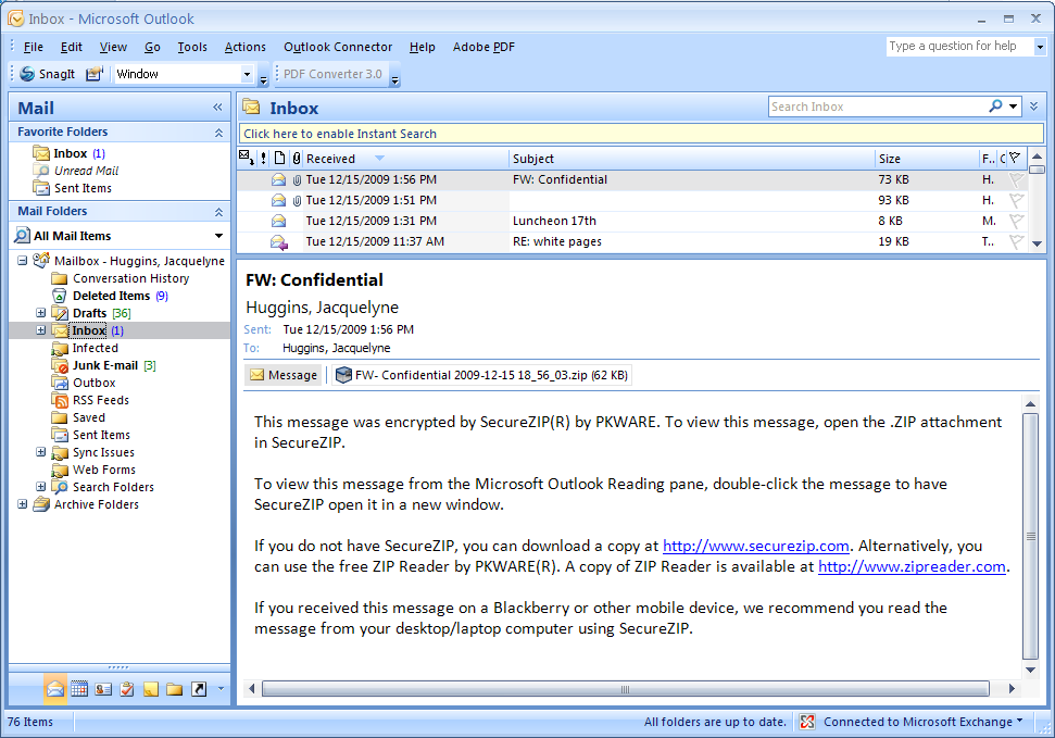 SecureZIP: Getting Started (Windows) | University of Pittsburgh
