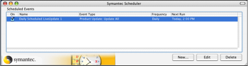 Symantec Endpoint Protection for Macintosh Screenshot 9
