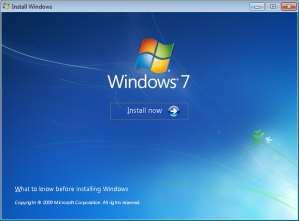 Windows 7 installation screenshot 2
