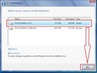 Windows 7 installation screenshot 7