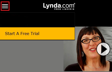 Log in to lynda