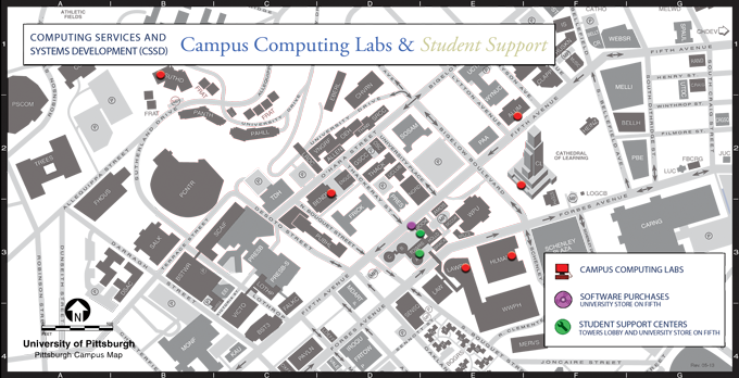 Labs Support Map