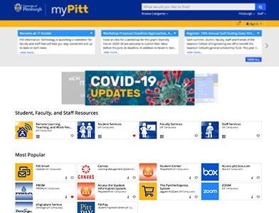 My Pitt Screenshot