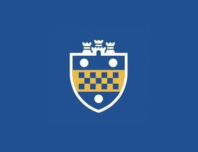 University of Pittsburgh Shield Logo Above Blue Background