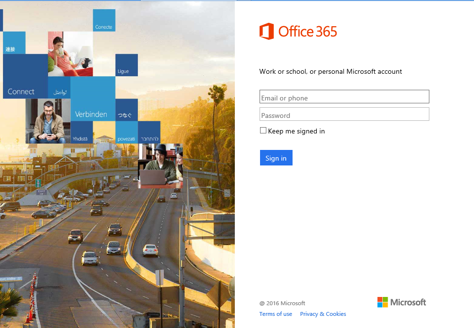 Phishing alert unread message scam mimics office 365 login page information technology - Micrsoft office 365 login ...