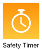 Safety timer icon