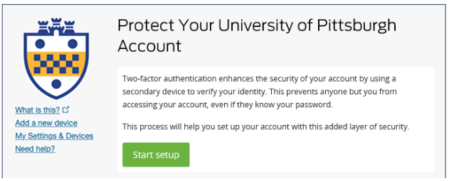 Multifactor Authentication at Pitt (Duo) | University of